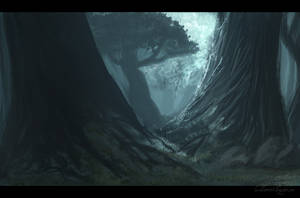 Forest by LeSoldatMort