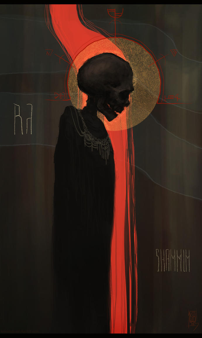 The Priest of the dead by LeSoldatMort