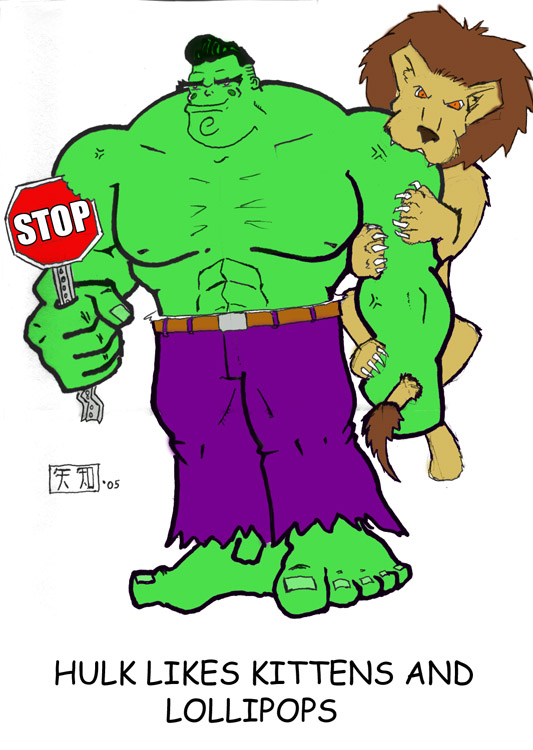 Hulk Likes... by Tenzhi