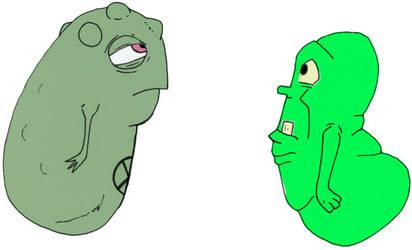 Doop and Slimer