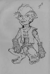 Buck-toothed goblinoid
