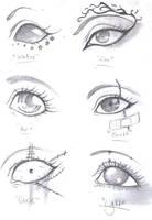 Elemental Eyes by CorvoPls