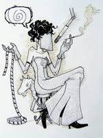 Madame Psychosis by oponok