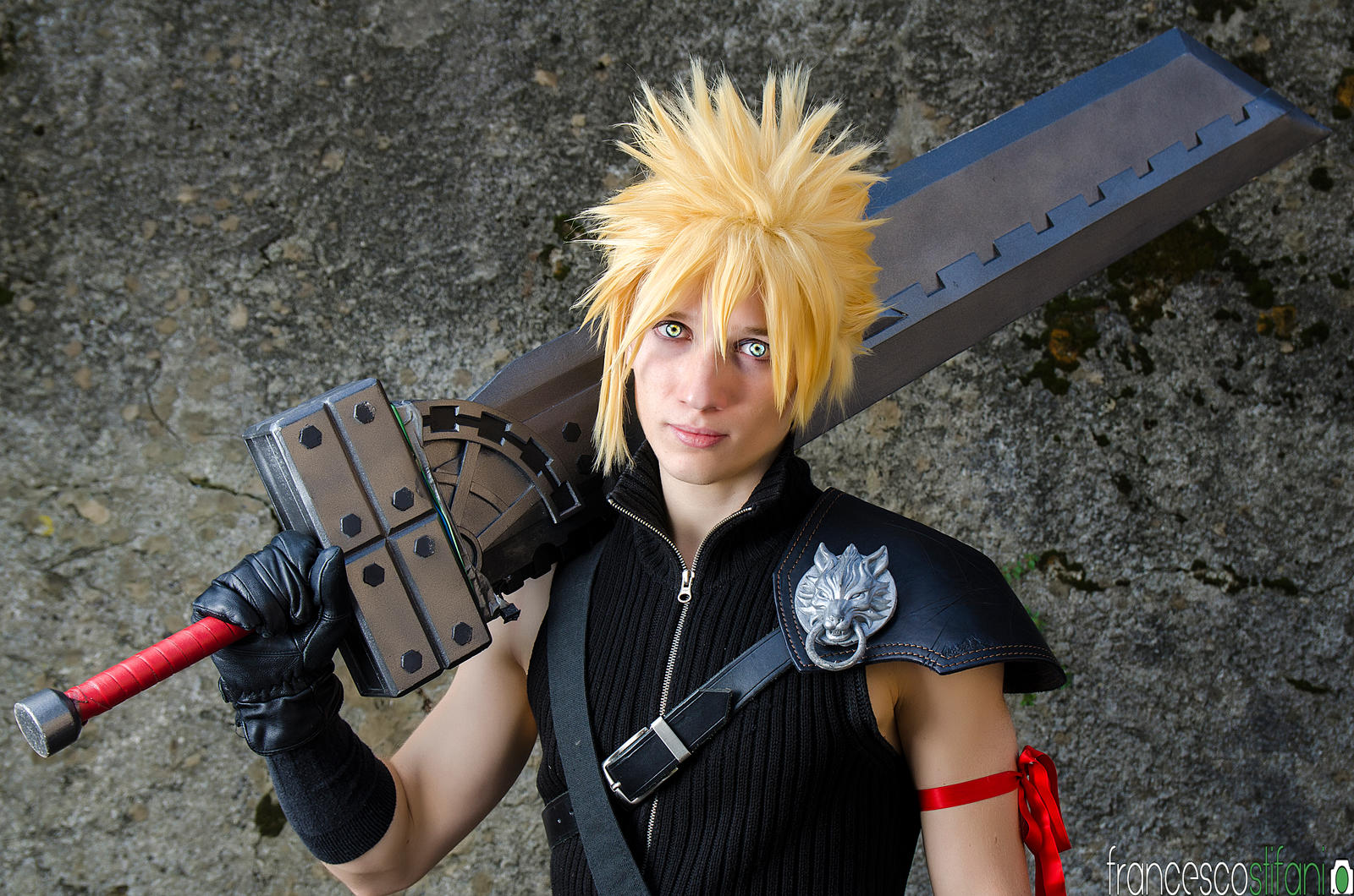 Cloud Strife - Final Fantasy VII Advent Children - by pchanFM