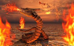 Serpent Dragons by MasPix