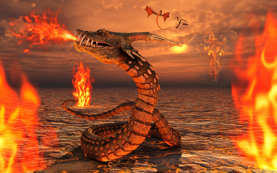 3d wallpaper fire and ice