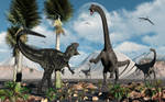 Allosaurus Confrontation.