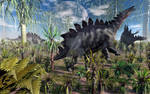 Stegosaurus Dinosaurs.