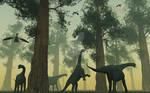 Camarasaurus Dinosaurs.