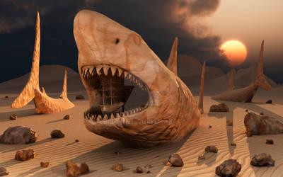 Megalodon Desert. by MasPix