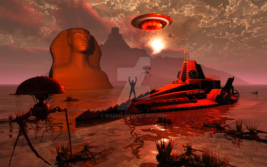 Last Days Of Atlantis. by MasPix