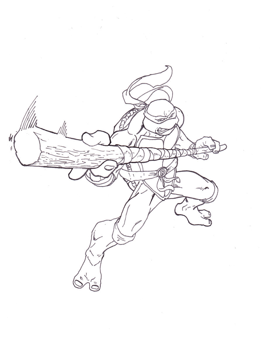 TMNT Donatello by ShinMusashi44 on DeviantArt