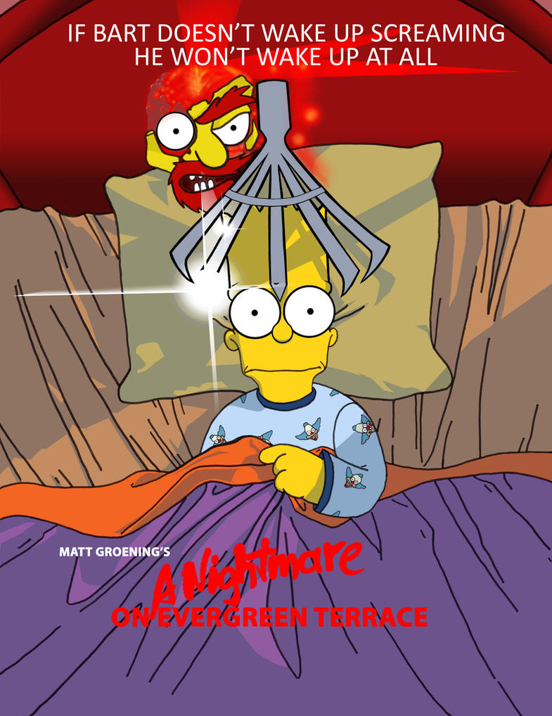 Simpsons Nightmare Part1 10-3 by ShinMusashi44