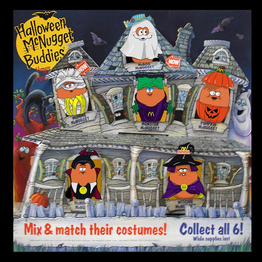Halloween McNugget Buddies By ShinMusashi44 On DeviantArt