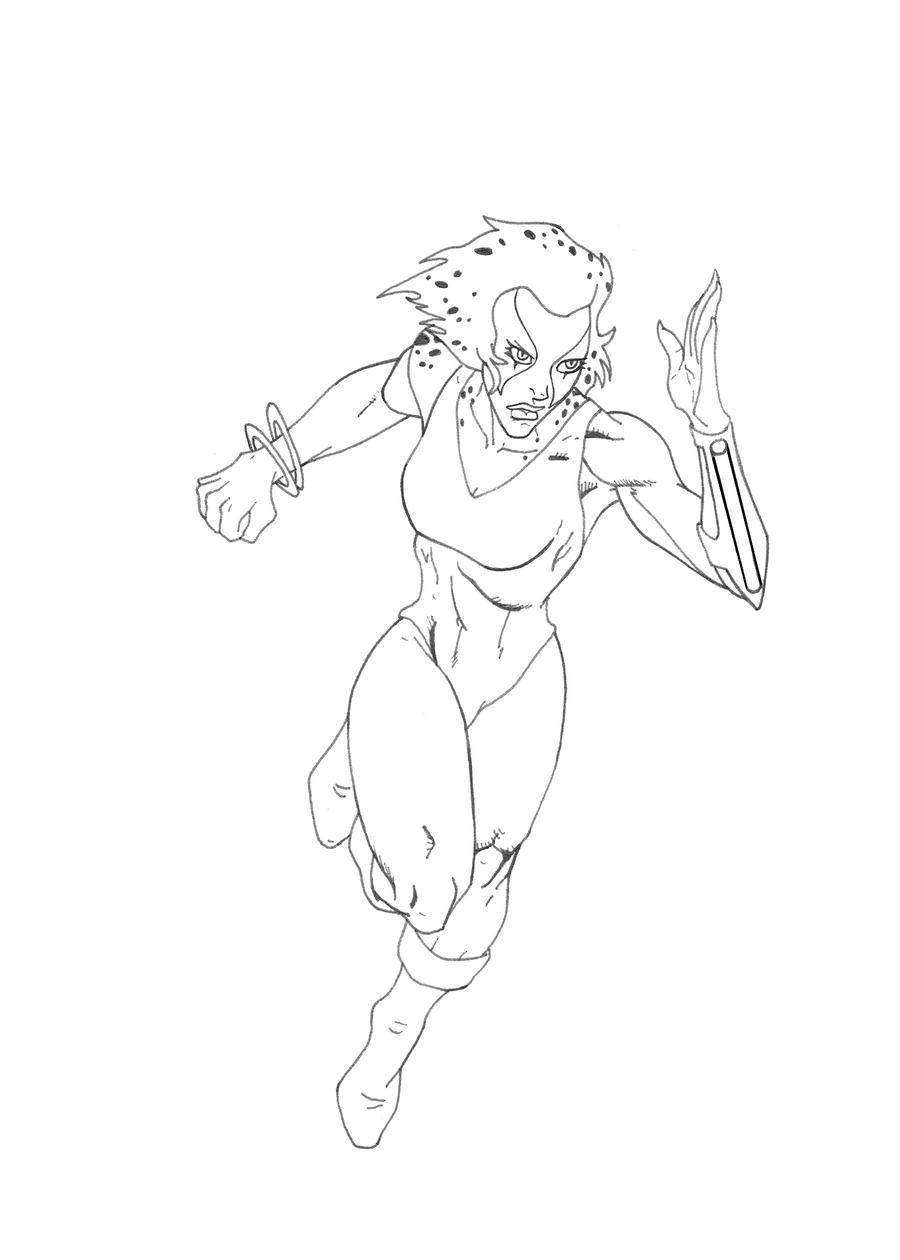 cheetara thundercats coloring pages - photo#6