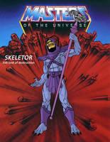 Skeletor by ShinMusashi44