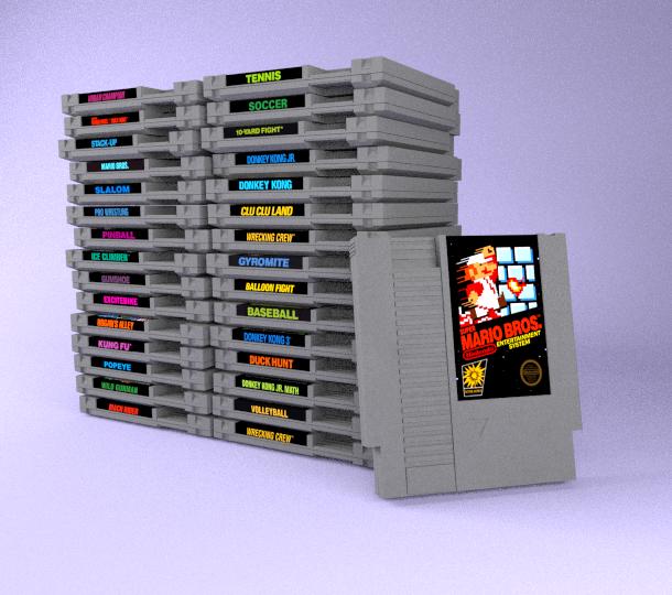 NES Black Box Collection by ShinMusashi44