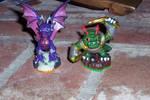 my two new Skylanders