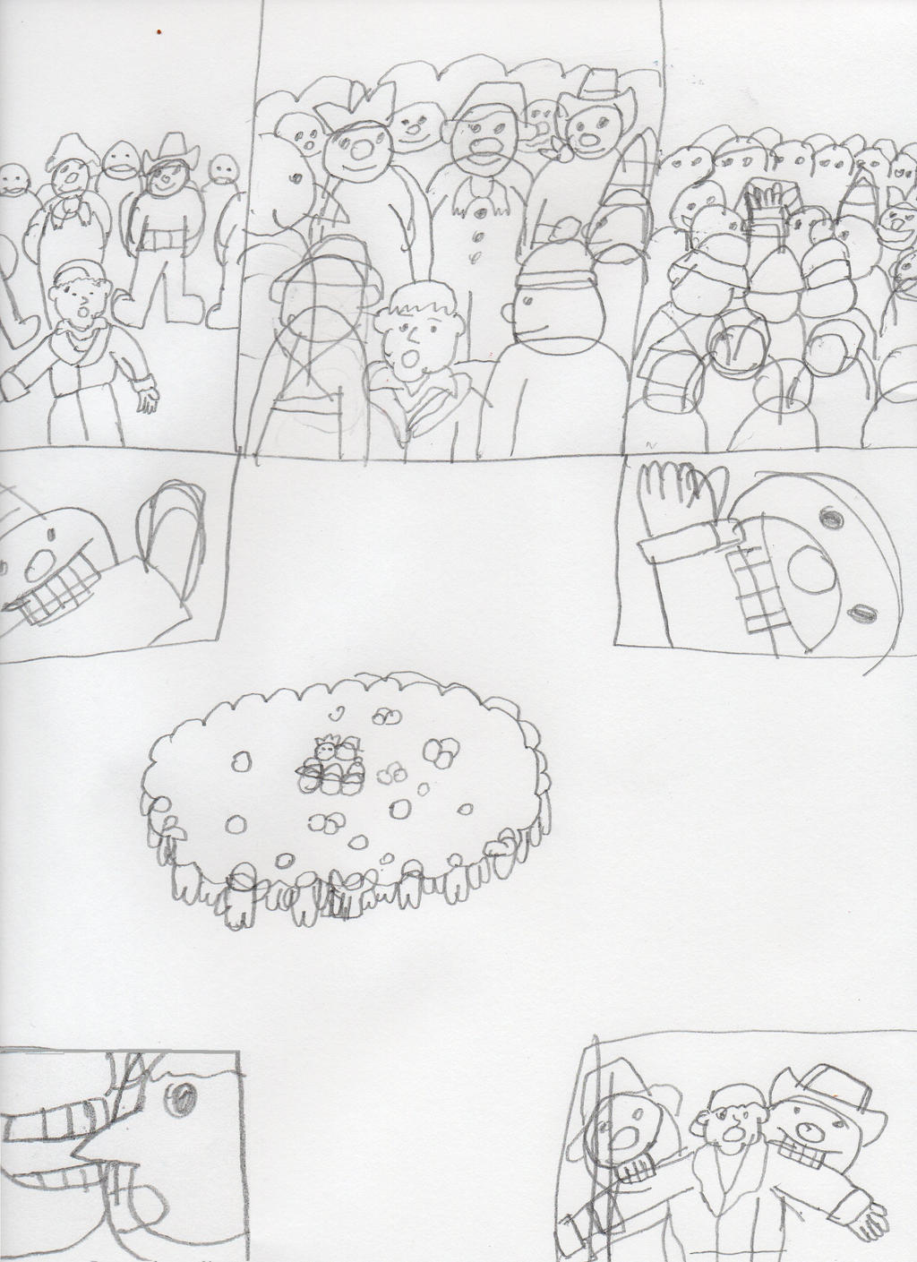 my own Raymond Briggs the Snowman ending002 by trexking45