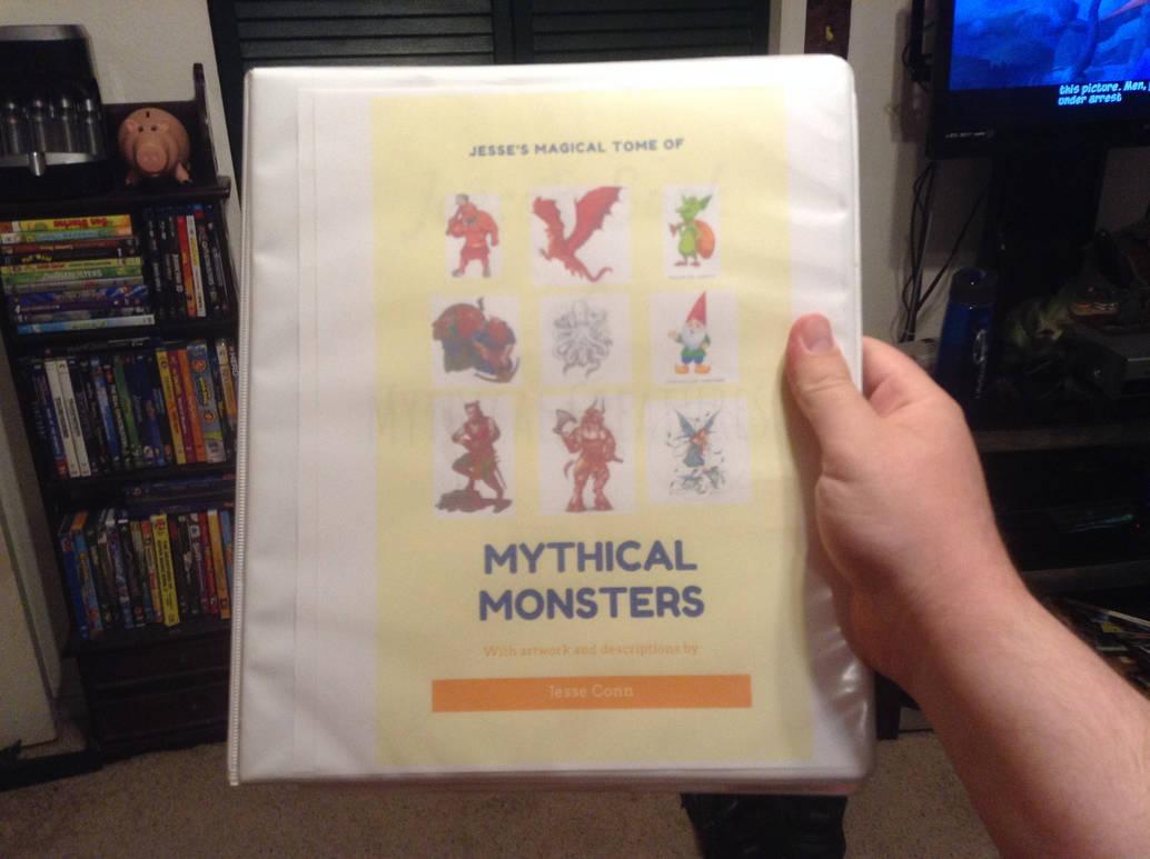 my magical creature book.