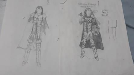 Clara niki, Armor concept