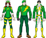 PD Redesign: The Legion of Lightning