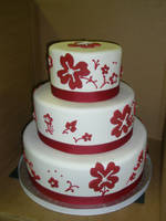 wedding cake 35 by ninny85310