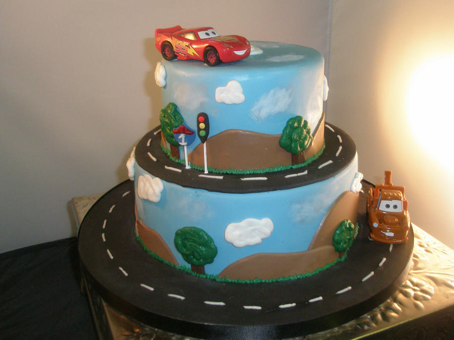 Car Cake Images Download : Cars cake by ninny85310 on DeviantArt