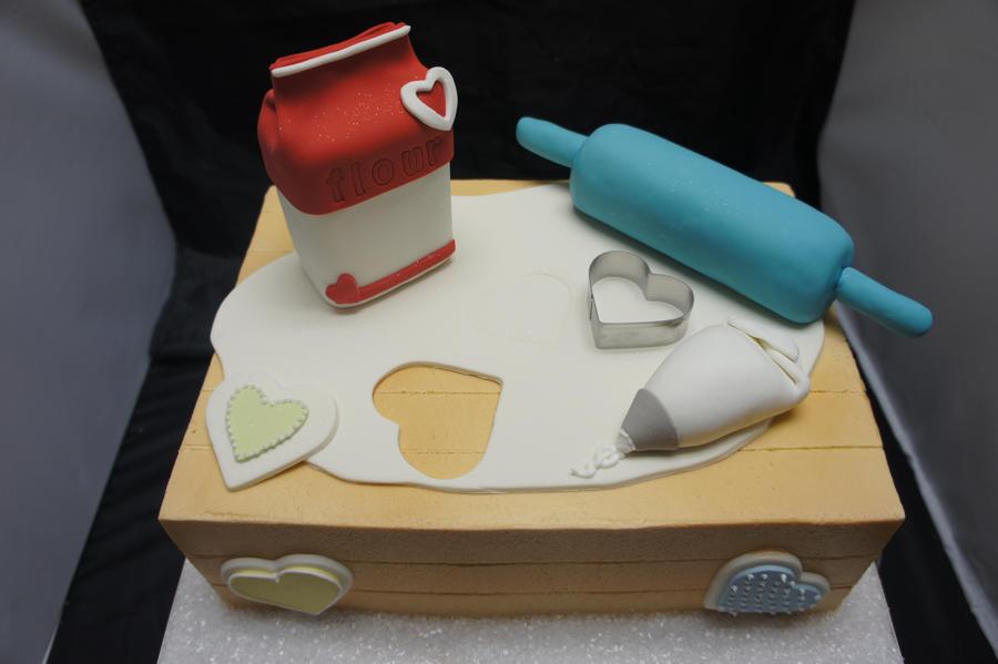Baking theme cake by ninny85310