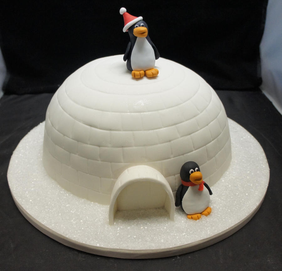 How To Make An Igloo Shaped Cake
