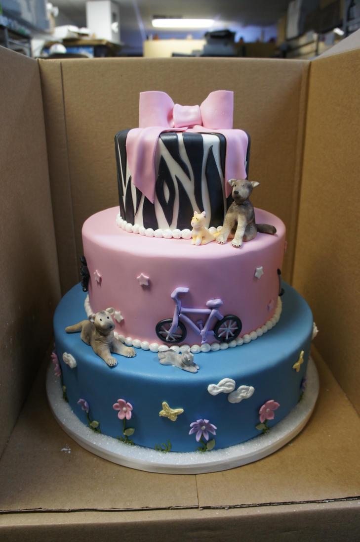 7 Year Old Birthday Cake By Ninny85310 On Deviantart