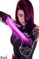 Psylocke Cosplay - Marianne Black by Azaak