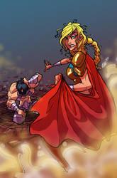 supergirl pendant cover by BTURNERart