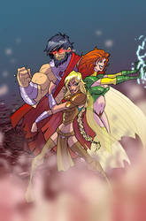 supergirl pendant cover2 by BTURNERart