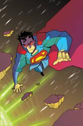 superman pendant cover87 by BTURNERart