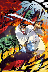 Samurai Jack #1 by BTURNERart