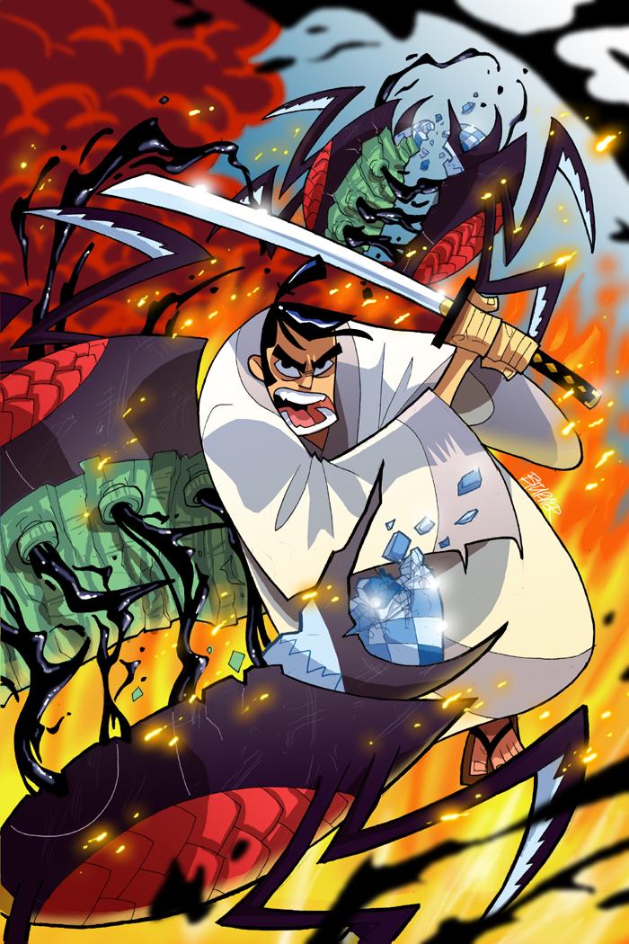 Samurai Jack #1 by BTURNERart
