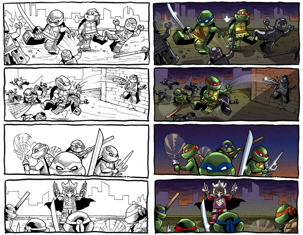 LEGO-TMNT-sample6 by BTURNERart