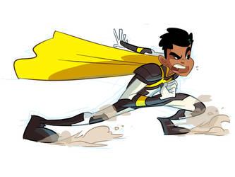 Hyperboy lite by BTURNERart