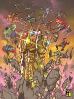 WAR!  by BTURNERart