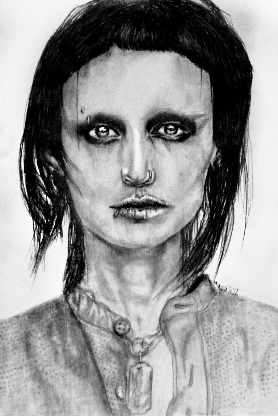 Lisbeth Salander by mo-world on deviantART