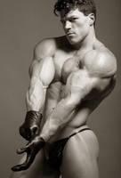 Black Gloved Muscle by BigBergMan