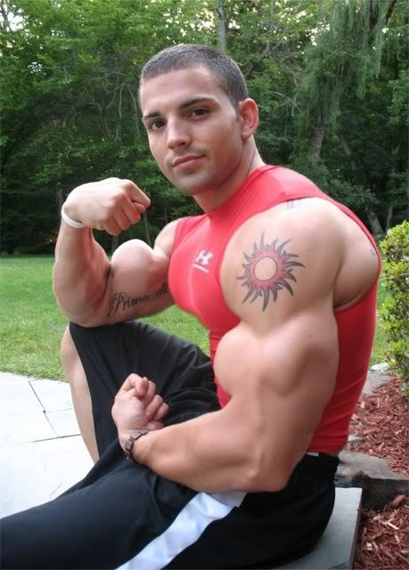 Mathew Fox Muscle Gay Morph