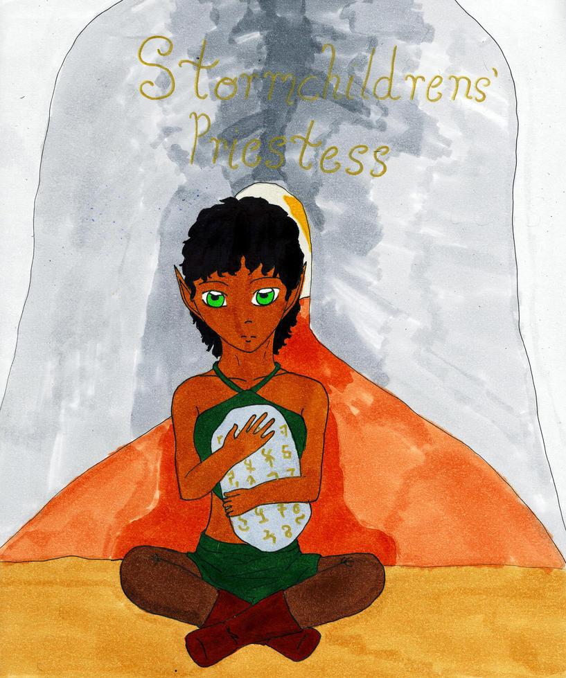 Stormchildrens' Priestess by LainaInverse