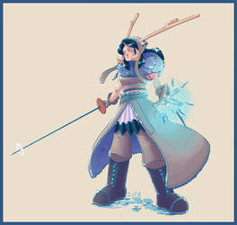 Edda Valenche by LordCyfe