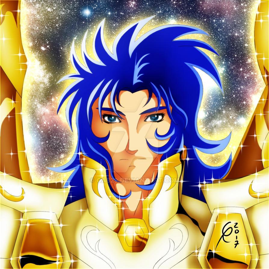 Gemini Saga - Divine Gold Cloth by gab29