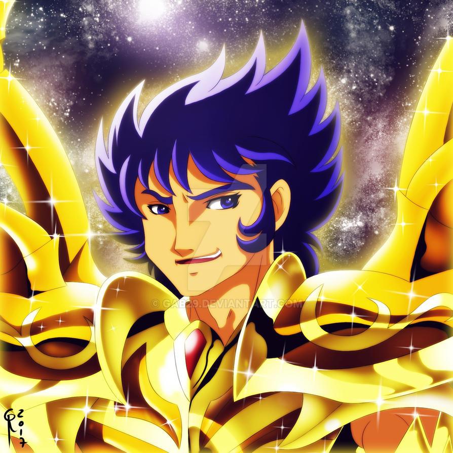 Cancer Deathmask - Divine Gold Cloth by gab29