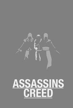 Assassins Creed Minimal Poster