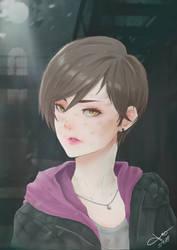 Moira Burton from Resident Evil Revelation 2 by JenYeonGI