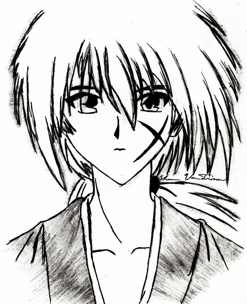 Kenshin Himura By InisoTakano
